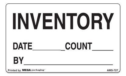 Picture of Inventory Info 3x5