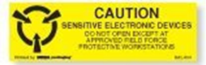 Picture of Caution Sensitive Electronic Devices 5/8 x 2