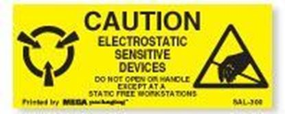 Picture of Caution Electrostatic Sensitive Devices 1 x 2-1/2