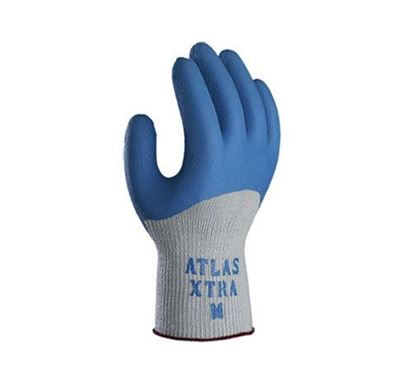 Picture of Atlas® Xtra Blue Rubber Palm and Back Coated Gloves