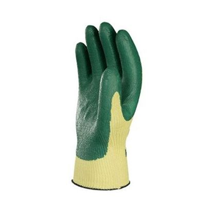 Picture of Atlas® Green Nitrile Palm Coated Gloves - 10 Gauge Seamless Cut Resistant