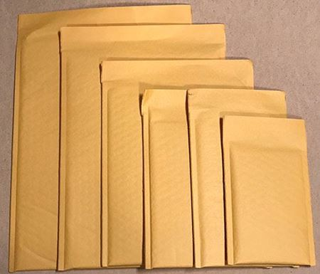 Picture for category Kraft Bubble Mailers