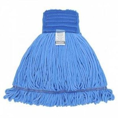 Picture of Blue Microfiber Loop-End Wet Mop
