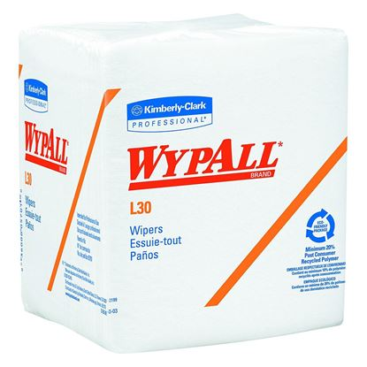 Picture of Wypall White Wipers 1/4 Fold