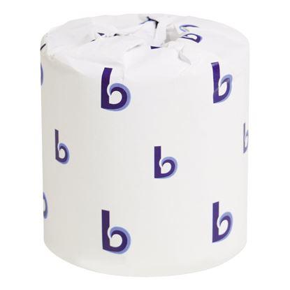 Picture of Boardwalk Standard 2Ply Toilet Paper Rolls, 96 rolls