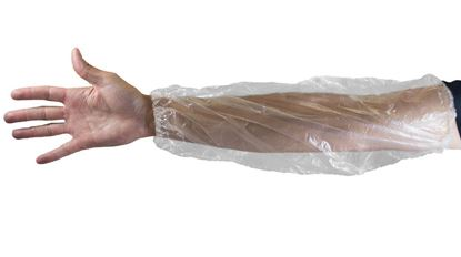 Picture of Clear Polyethylene Sleeves - 18 Inch Long 1,000 each