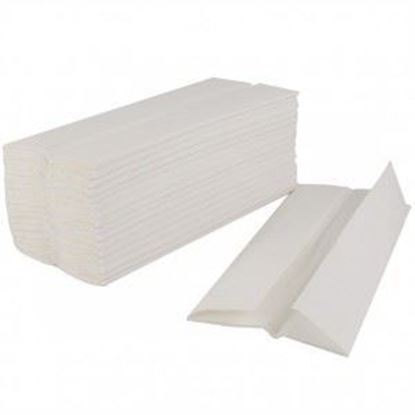 Picture of White C-Fold Towel