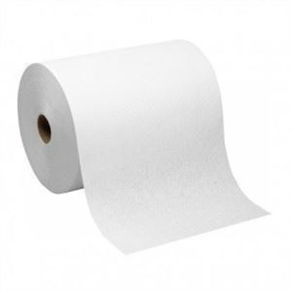 Picture of Sunnycare White Hardwound Roll Towel 6/800'