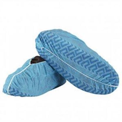 Picture of Blue Fluid Repellent Shoe Covers