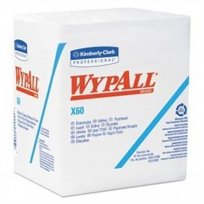 Picture of X60 White Wypall Cloths