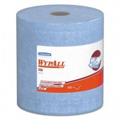 Picture of X90 Blue Wypall Roll