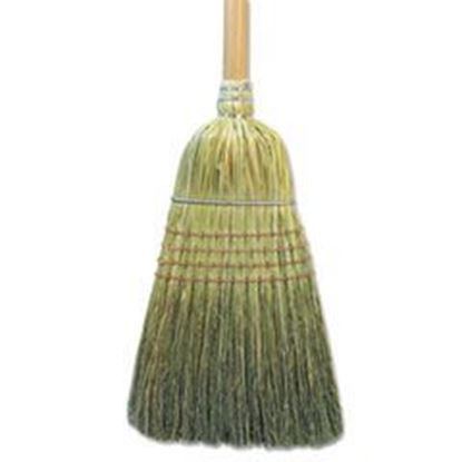 """Picture of Warehouse Broom, Corn Fiber Bristles, 56"""" Overall Length, Natural"""